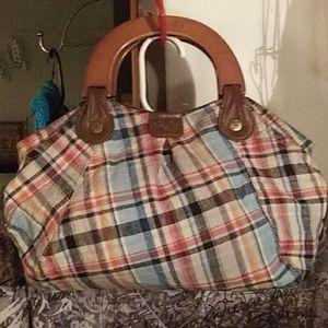 Plaid Relic purse